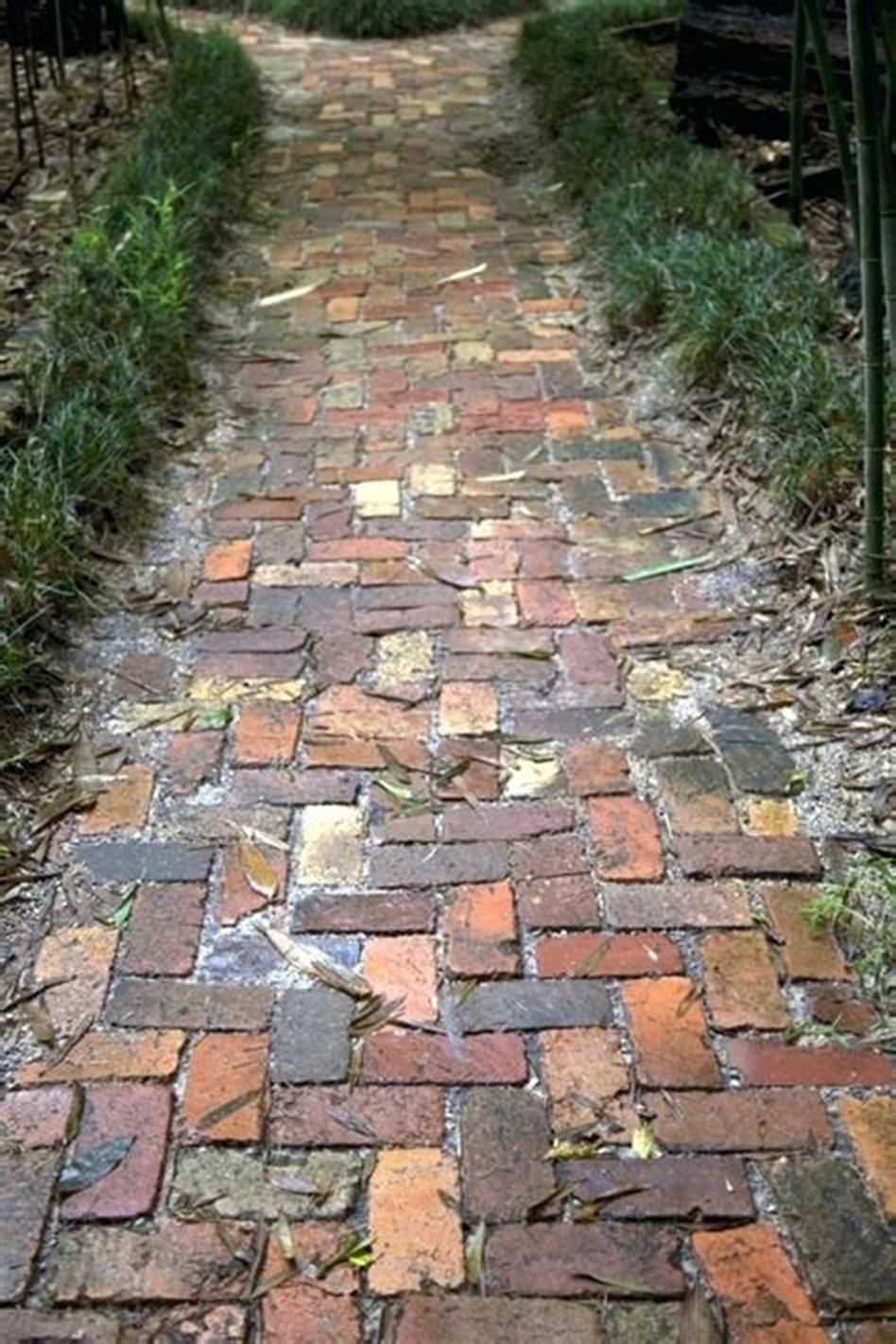 40 Best Brick And Concrete Walkway