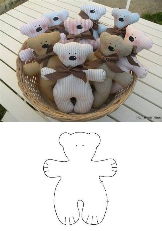 Suitable DIY present - super picture   Sewing stuffed animals, Stuffed toys patterns, Handmade toys