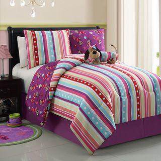 Poodle Reversible 4 Piece Comforter Set Auggy Pinterest