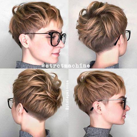 10 nuevos peinados cortos para pelo grueso, Ideas de corte de pelo de las mujeres