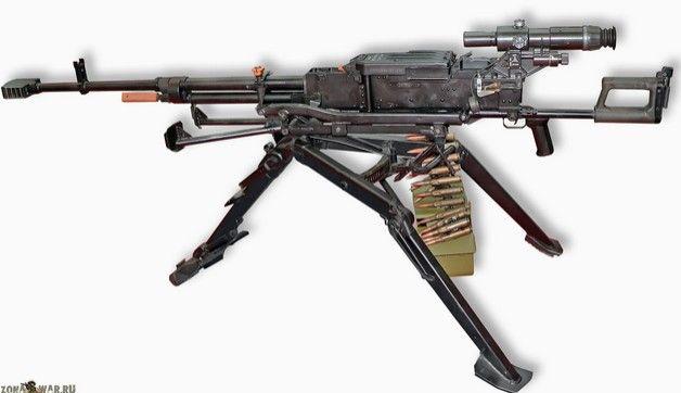 «Корд» — крупнокалиберный пулемет 12,7-мм — Энциклопедия оружия