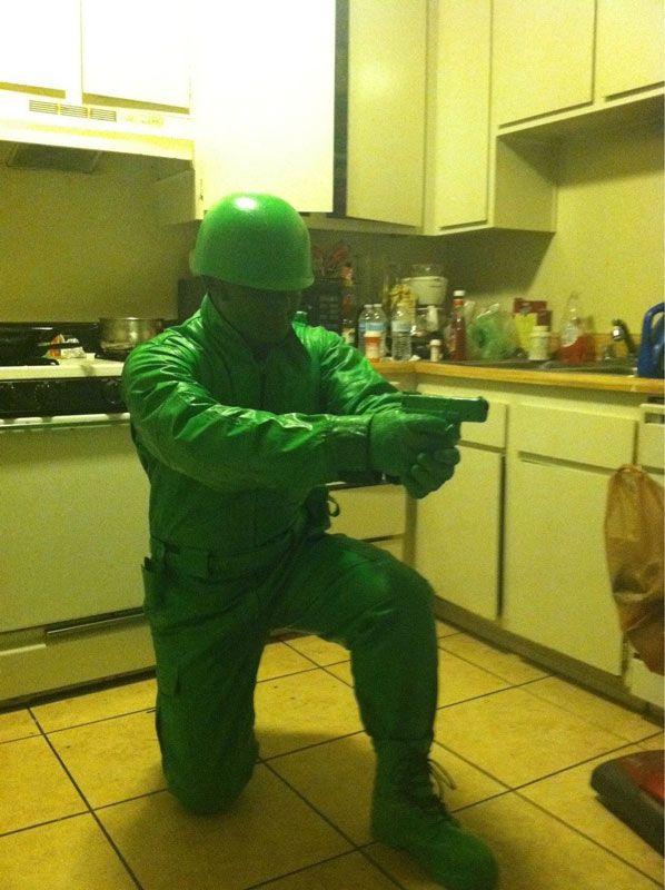 Plastic green army man halloween costumes halloween pictures happy halloween