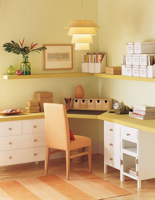 oriole 2169 30 yellow home offices home office colors on color schemes for an office id=49774