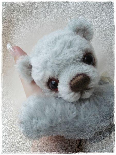 Bastelset - * Bastelpackung (Kit) * Baby Bär BLUE BALOO * :) - ein Designerstück von Teddy-Manufaktur bei DaWanda