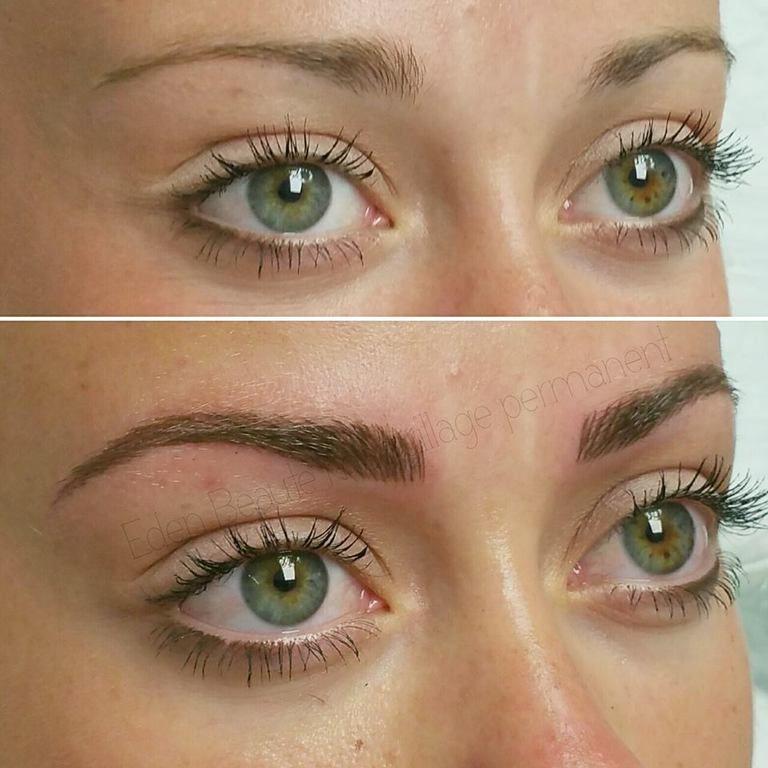 Maquillage permanent sourcils marseille toulon eden beaute maquillage permanent sourcils - Maquillage permanent sourcils poil a poil ...