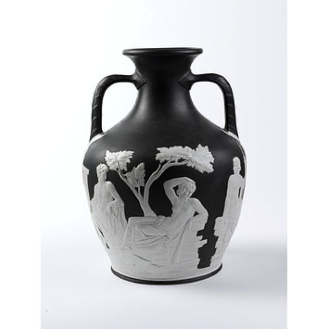 The Portland Vase A Roman Cameo Cut Glass Vase Of About 40 30 Bc