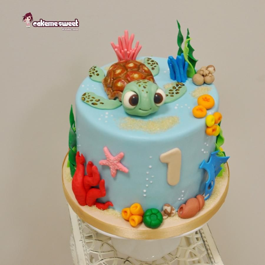 Nemo Cake: Finding Nemo Cake/2 - Cake By Naike Lanza