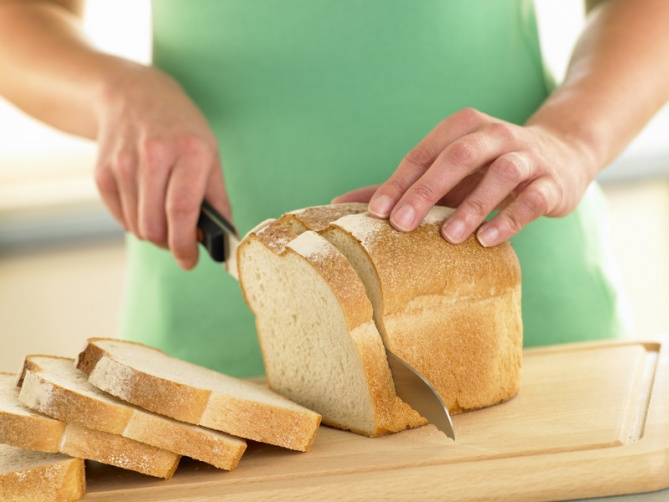 Old Fashioned White Bread Mix Food Foods With Gluten Homemade