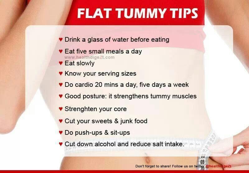 Tummy tips