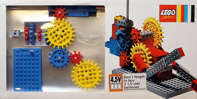 800-1: Gears. Motor and Bricks | Lego, Bricks and Legos