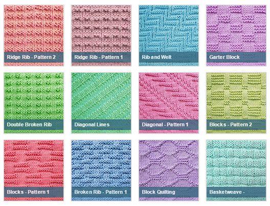 Knit Purl Stitches Knitting Things Pinterest Stitch Knitting