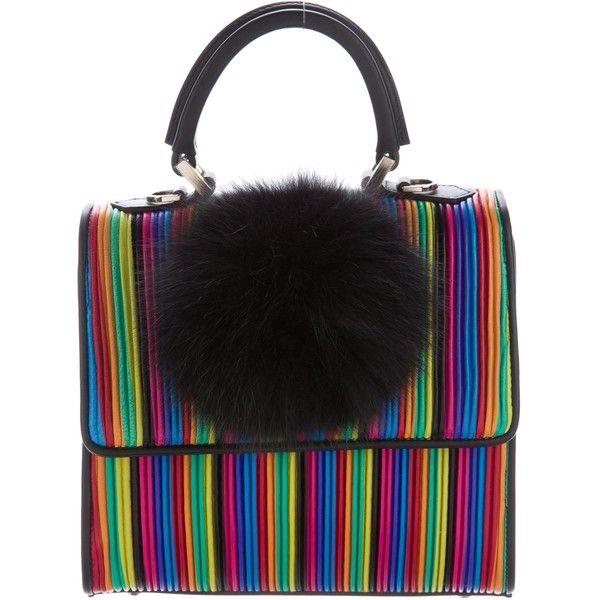 Les Petits Joueurs Pre-owned - Leather handbag Nhex09cTcM