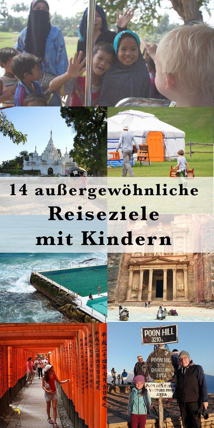 16 außergewöhnliche Reiseziele mit Kindern – die dich begeistern werden