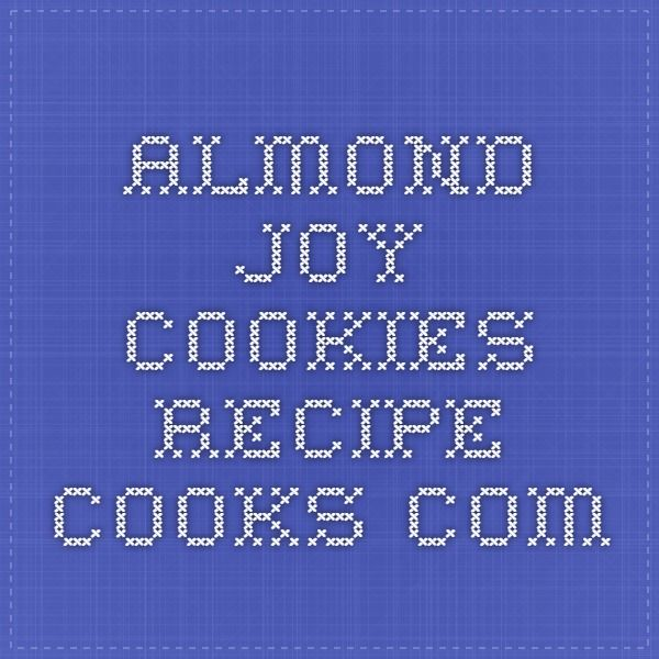 Almond Joy Cookies - Recipe - Cooks.com