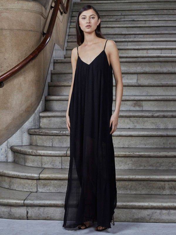 Let Go Maxi Dress Black Keepsake