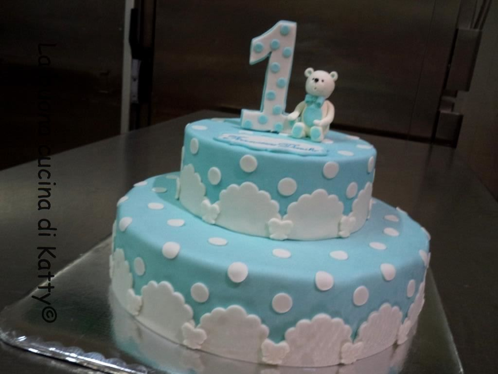 Torta orsetto bianco - Cake white teddy bear   Torte ...