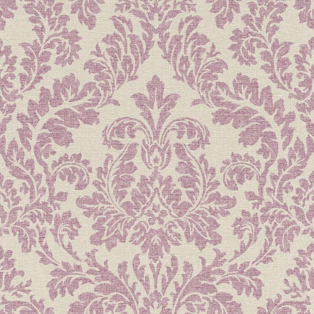 Rasch Tapete Vlies Florentine Ornamente Beige Lila 449044 2 61 1qm Tapeten Tapeten Rasch Und Tapeten Beton