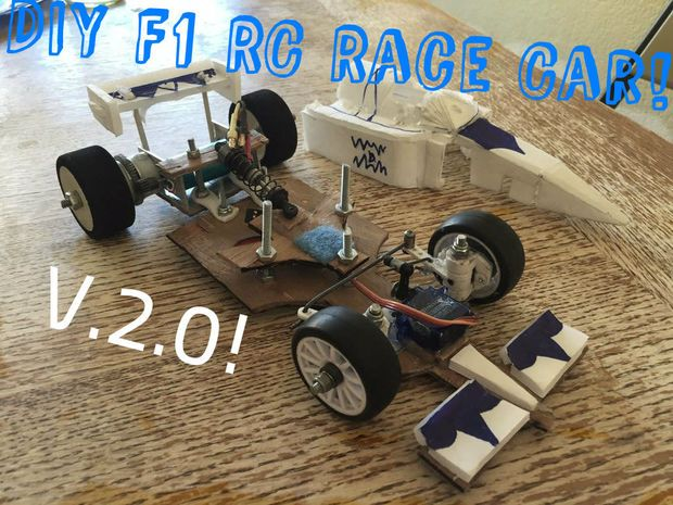 Diy F1 Rc Race Car V20 I Can Do That If I Wanted