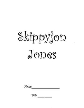 Skippyjon Jones Class Action Daily 5 Weekly Activities