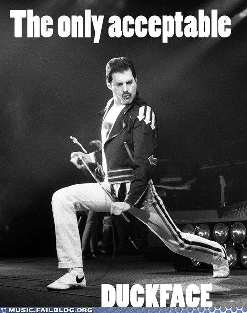 Music FAILS: We'll Give Freddie a Pass