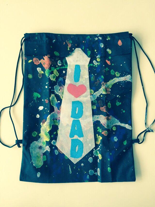 Bolso Tipo Tula Para El Regalo De Papá Drawstring Backpack Backpacks Bags