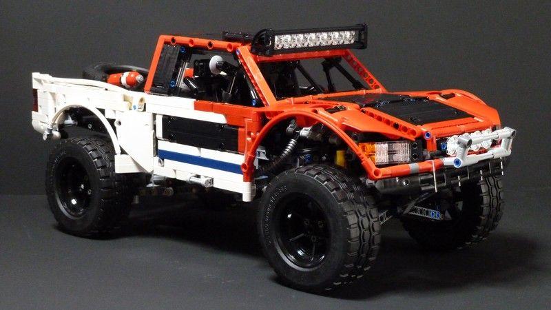 moc baja trophy truck with sbrick lego technic. Black Bedroom Furniture Sets. Home Design Ideas