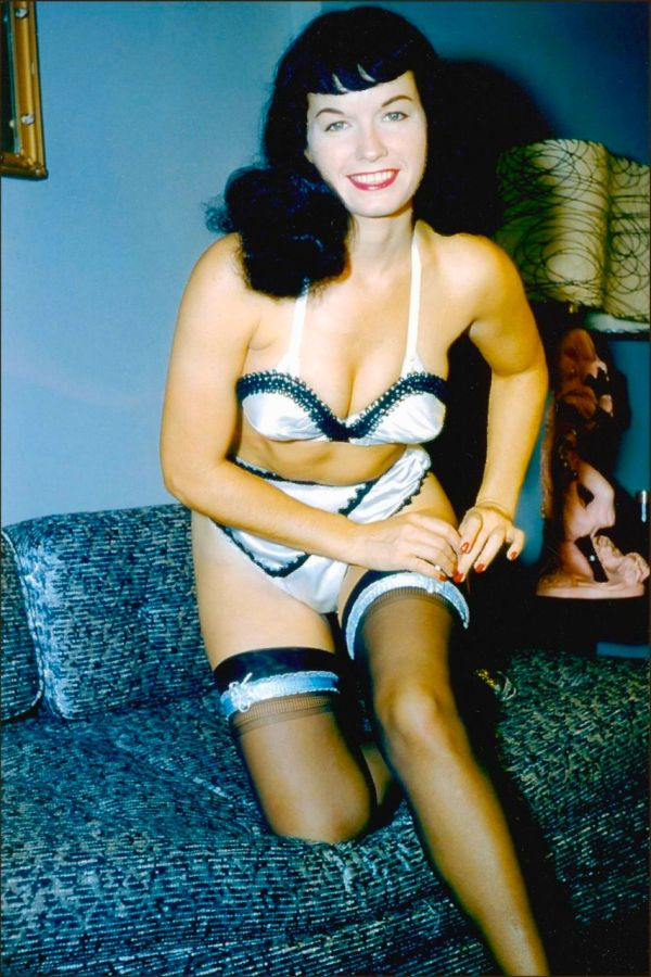 Betty Page Photos: Vintage Everyday: Betty Page' Pin-ups By Bunny Yeager