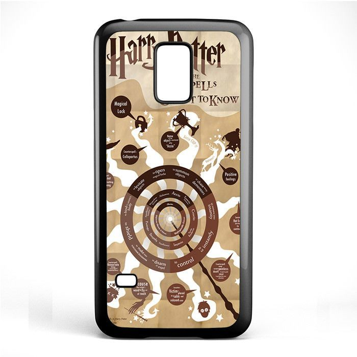 Harry Potter Magic Spell What You Ought To Know TATUM-5122 Samsung Phonecase Cover Samsung Galaxy S3 Mini Galaxy S4 Mini Galaxy S5 Mini