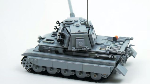 第二次世界大戦のキングタイガー戦車をレゴで再現。しかも動く! - ライブドアニュース