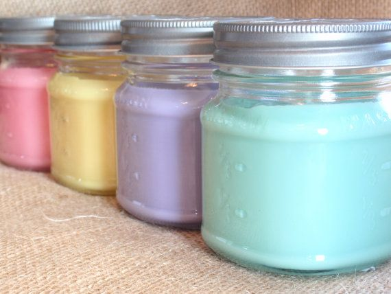 Mason Jar Candle 5 Soy Candles For Sale Hand Poured Soy Candles Handmade Candles Ja Mason Jar Candles Homemade Highly Scented Soy Candles Soy Candle Jars