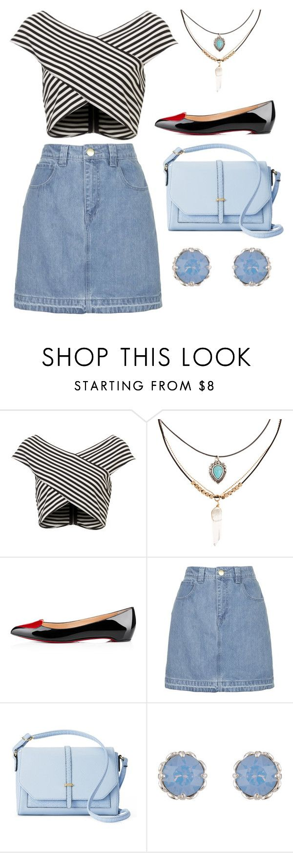 """""""Untitled #10036"""" by beatrizibelo ❤ liked on Polyvore featuring Accessorize, Topshop and Apt. 9"""