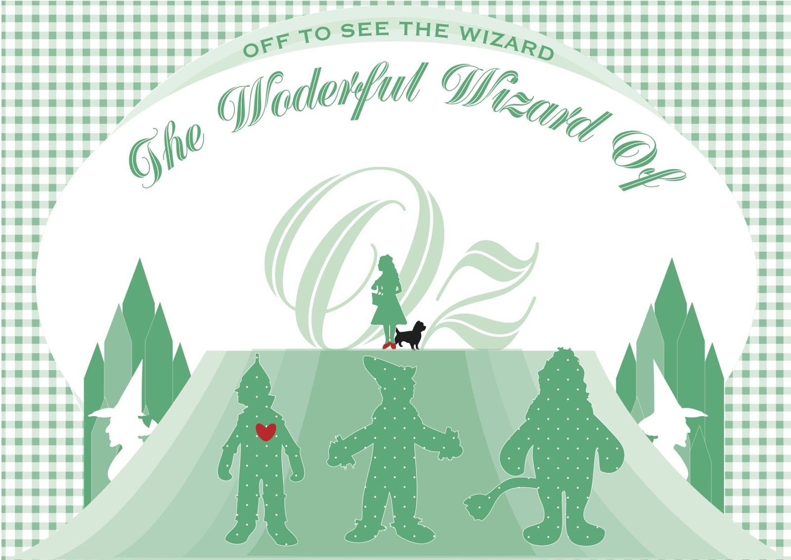 You are In Good Company GOOD PLAN - Wizard of Oz Entrance the - Wizard Of Oz Halloween Decorations