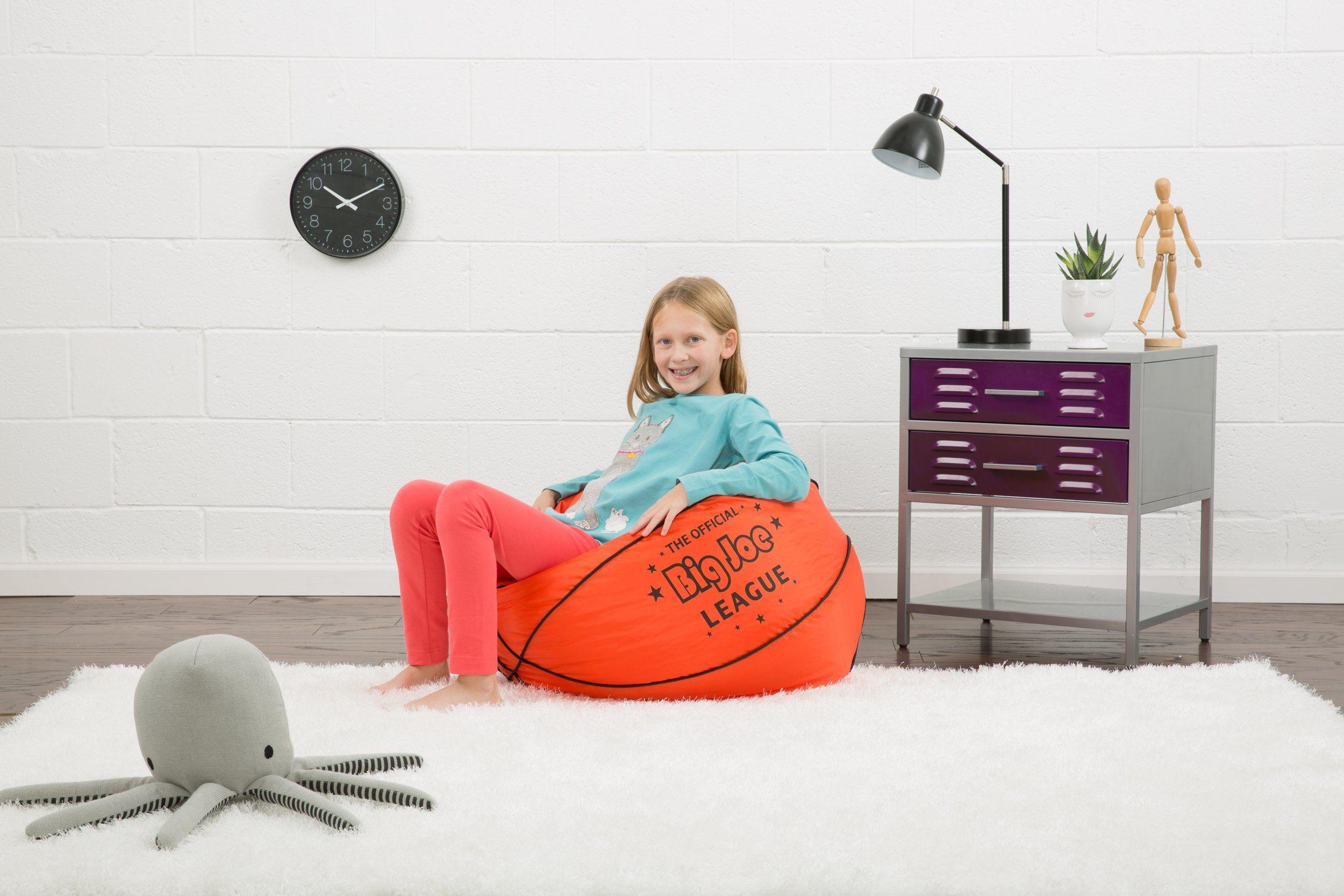 Comfort Research Big Joe Basketball Bean Bag With Smart Max