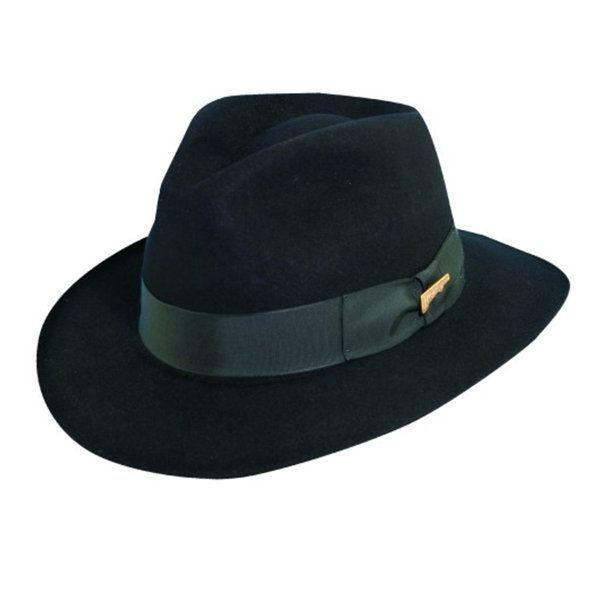 Dorfman Pacific - Fur Felt Indiana Jones Fedora Hat  e2993b86efe