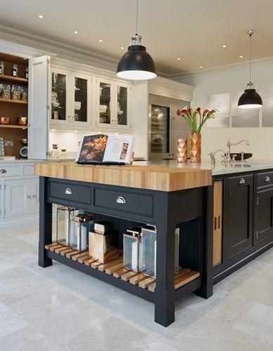 Ordinaire Stunning Black U0026 Grey Painted Kitchen U2013 Tom Howley