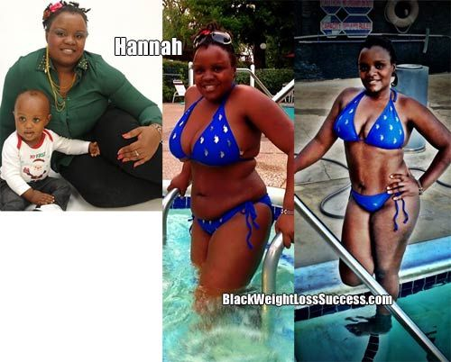 Weight Loss Story of the Day: Hannah lost 56 pounds   Black Weight Loss Success