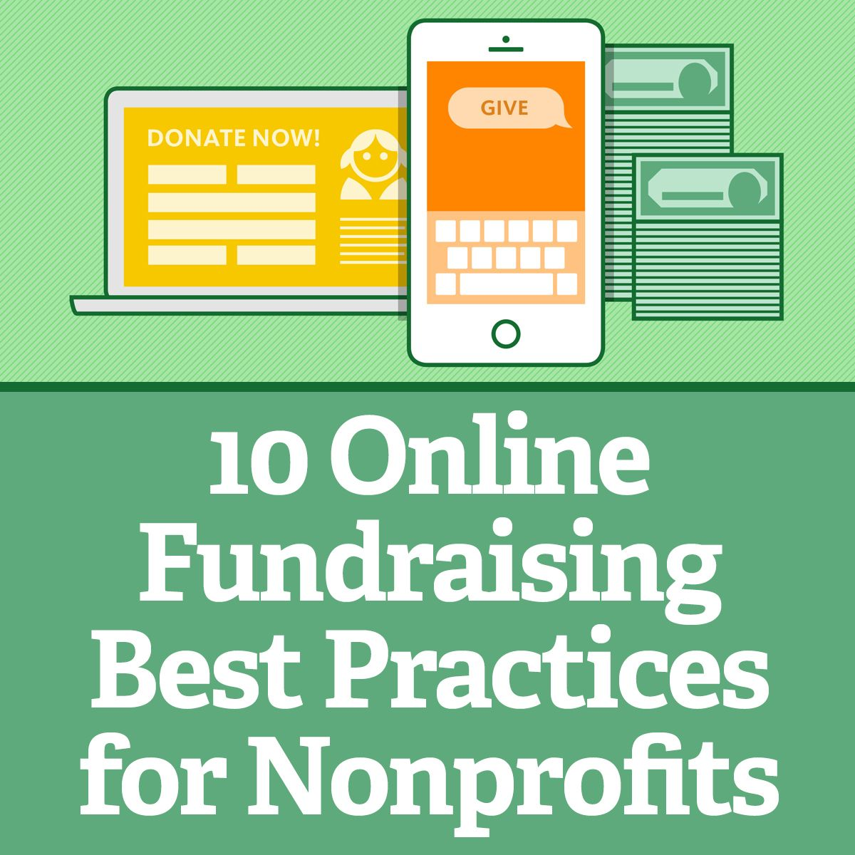 10 Online Fundraising Best Practices For Nonprofits Online Fundraising Fundraising Fundraising Email