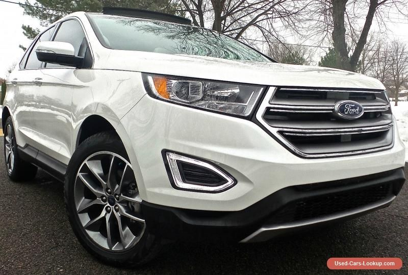 2016 Ford Edge Titanium Sport Utility 4Door ford edge