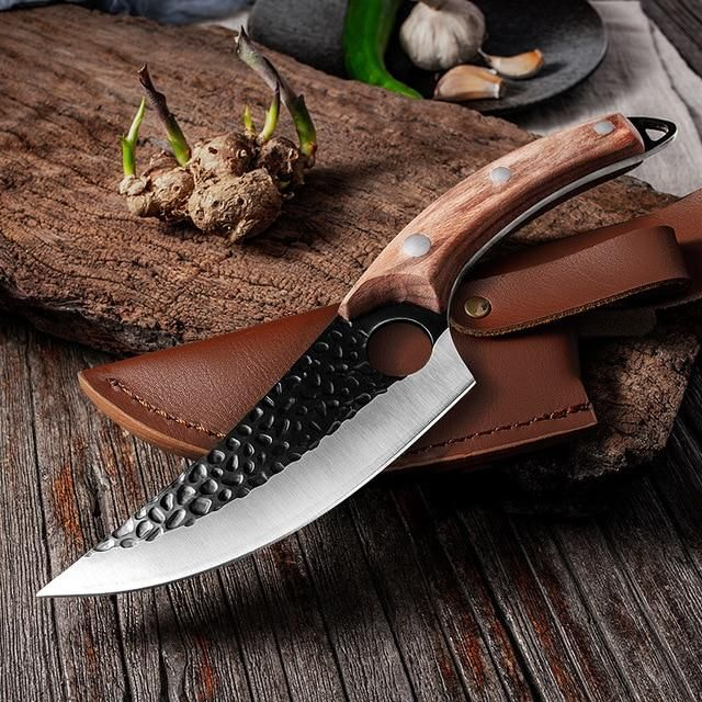 Specifications:Blade length: 146mmHandle length: 127mmKnife width: 50mmBlade thickness: 4mmBlade material: 5CR15 Stainless SteelHandle material: Walnut wood(Brown Handle), Black Wood(Black Handle), Ergonomic design, comfortable grip for long time useWeight: about 245g(not include cover)Package Including:1x 5.5 inch Boning Knife (If you choose knife)1x Knife Cover(if you choose Knife with cover)1x Knife Sharpener (If you choose Knife sharpener)Please note: Due to different measurement methods, th