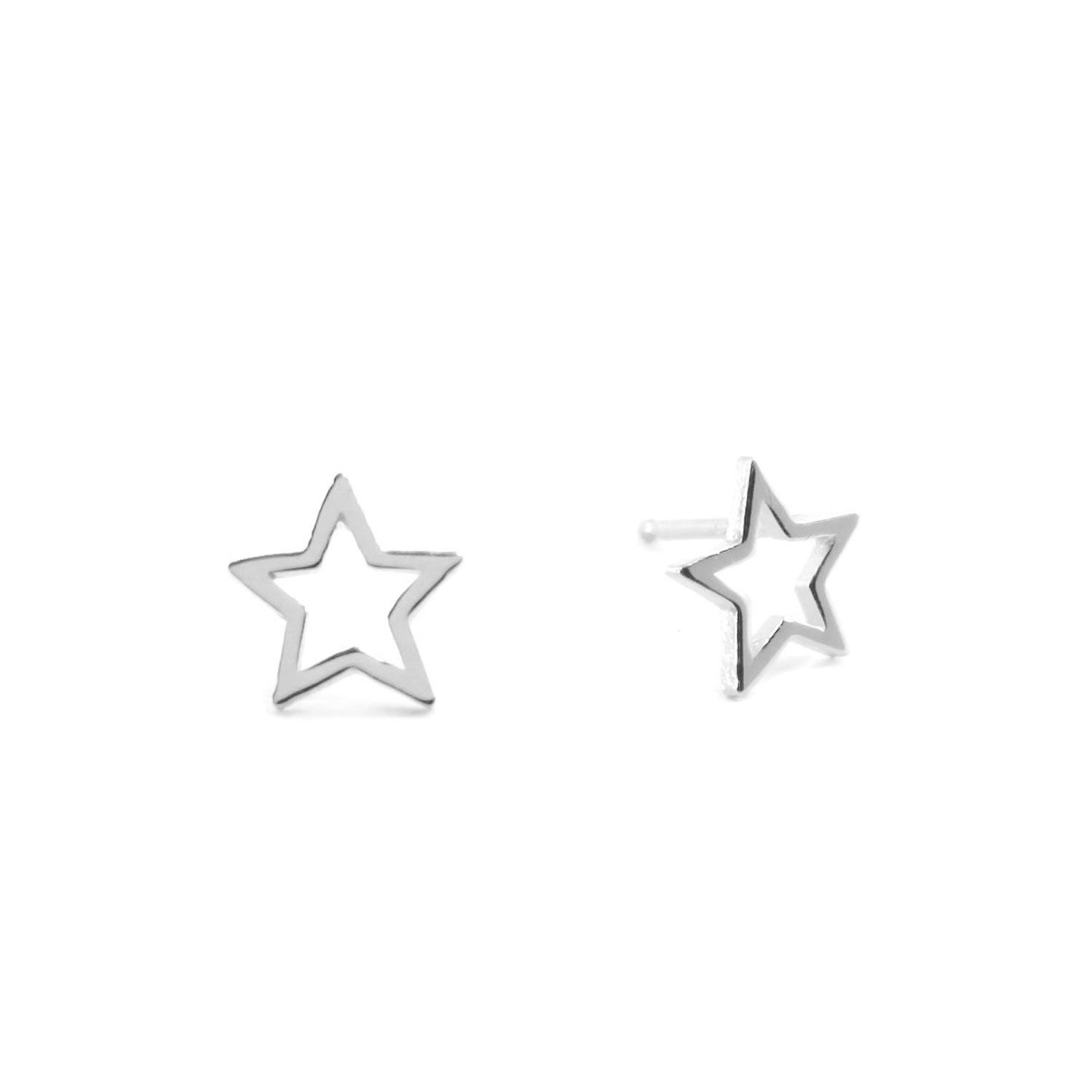 8ef33116e Sterling Silver STAR Stud Earring *** We appreciate you for visiting our  photograph. (This is an affiliate link) #studearrings