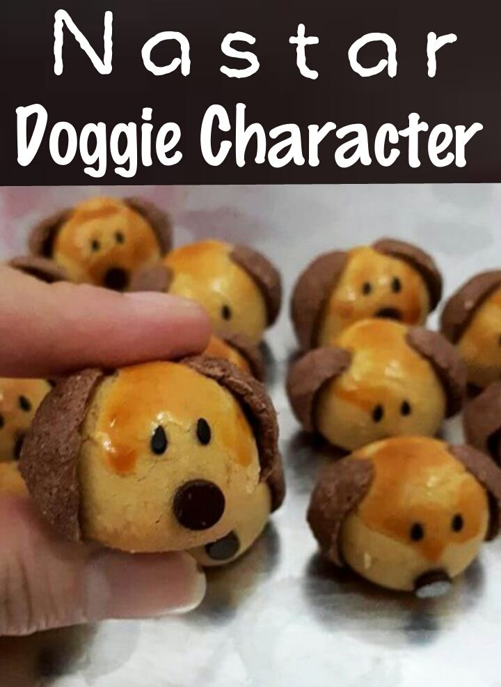 Nastar Doggie Character Nastar Kue Kering Kue