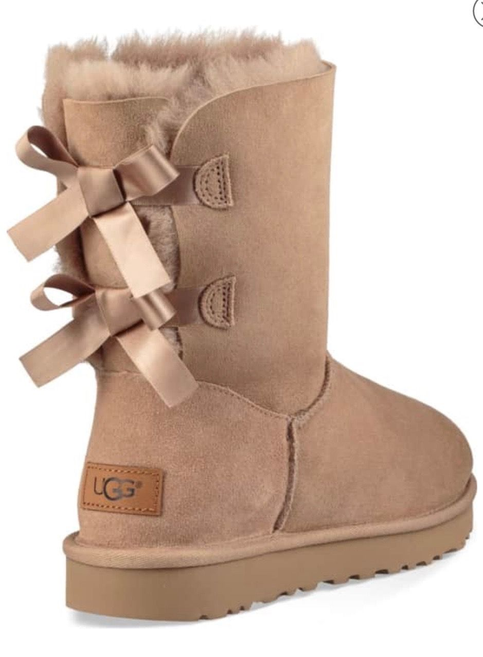 uggs 204 00 baily bow fawn me my style in 2019 pinterest rh pinterest com