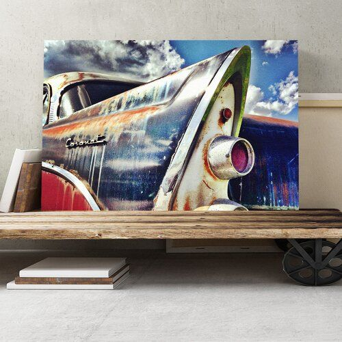 Big Box Art Vintage Classic Car Photographic Print on Canvas | Wayfair.co.uk