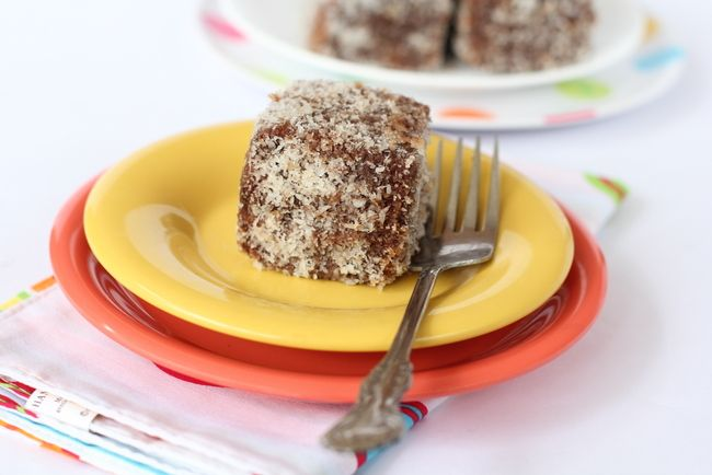 Lamingtons recipe australian food cube and indian food recipes forumfinder Images