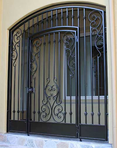 Click Screen To Close Iron Fence Wrought Iron Gates
