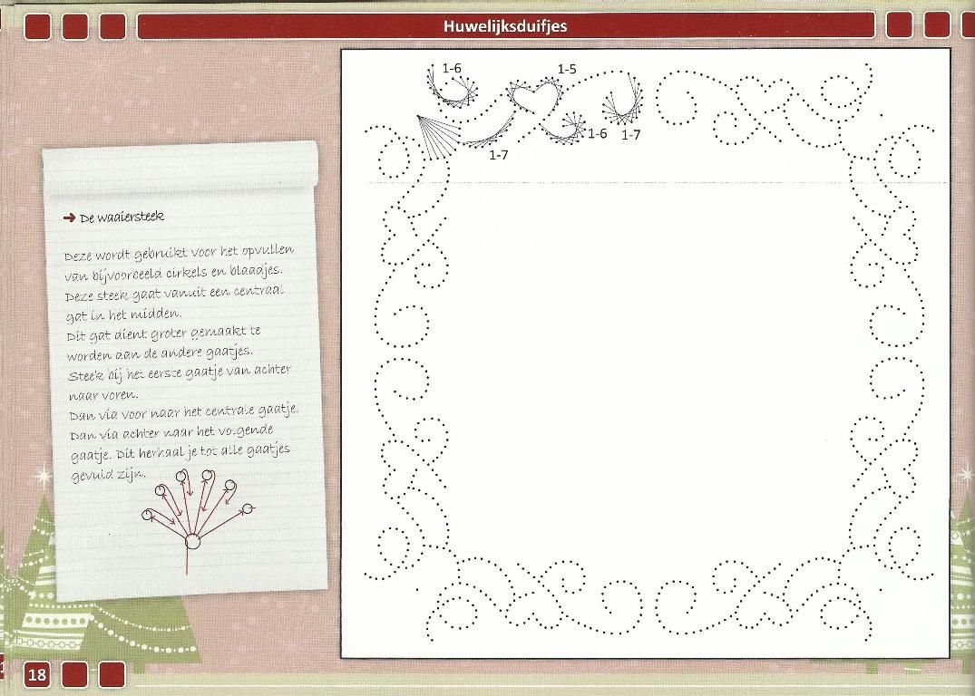 T T stitched border with hearts | Paper Embroidery | Pinterest ...