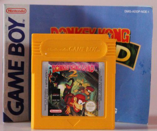 Nintendo Gameboy Spiel Donkey Kong Land 2 +Anleitung für Game Boy,Game Boy Color