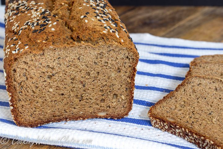 Extra Large Buckwheat and Quinoa Bread Loaf - Gluten ...