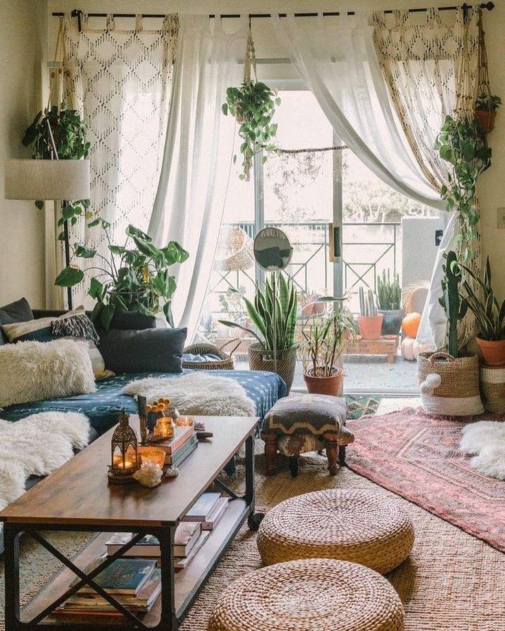 Bohemian Home Decor And Design Ideas Bohemian Decor Design Home Ideas Living Room Designs Apartment Decor Bohemian Living Rooms