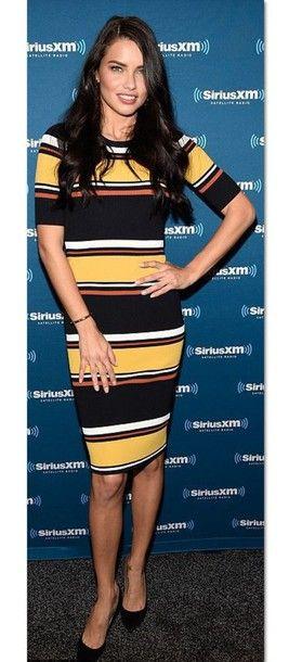 Striped #dress